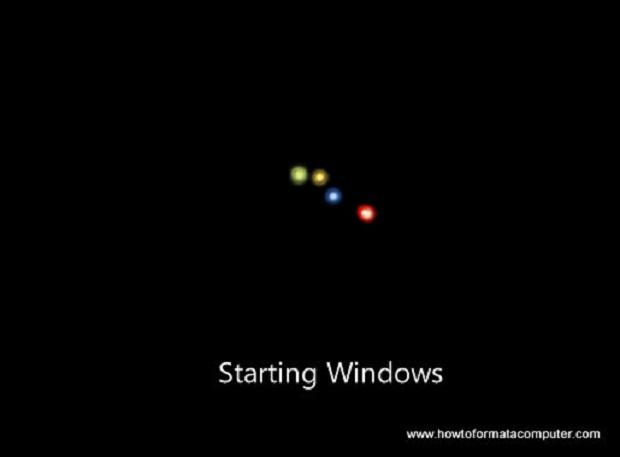 Windows 7  - L' installation devrait alors démarrer